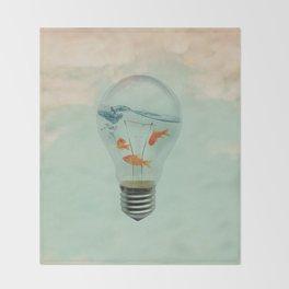 Ideas and Goldfish (RM) Throw Blanket