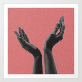 Hands I Art Print