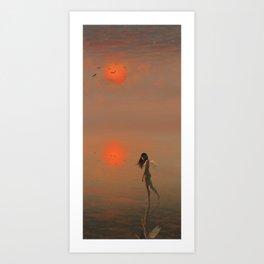 Hakua Byouto Art Print