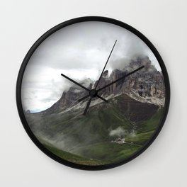 alps photo Wall Clock