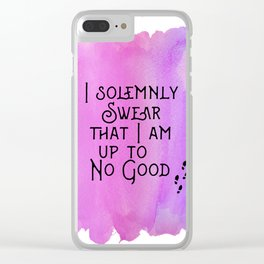 I am Up to No Good Clear iPhone Case