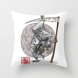 """Capoeira 190 """"fin du monde"""" Throw Pillow"""