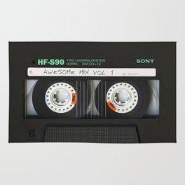 cassette classic mix Rug