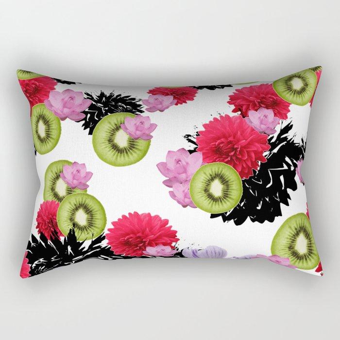 RAINING KIWI Rectangular Pillow