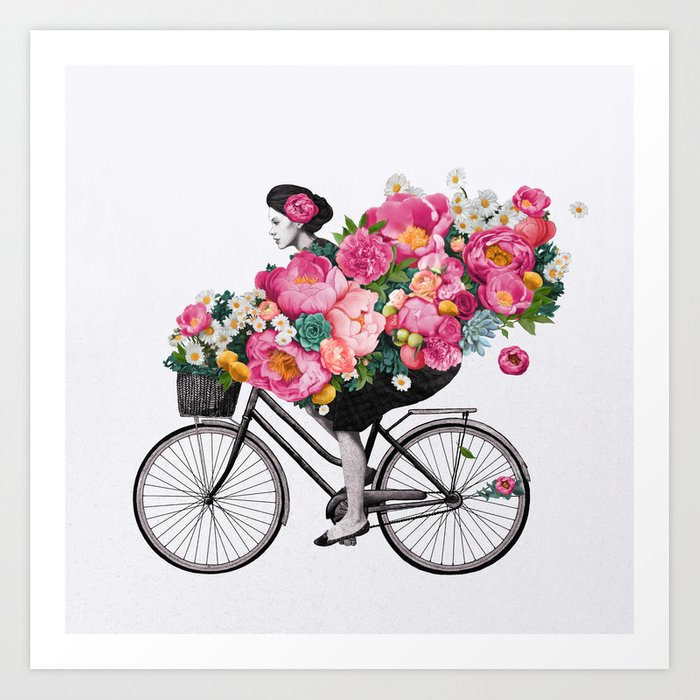 Bike Art Prints Society6
