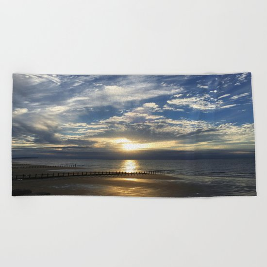 Sunset Beach Beach Towel