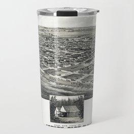 Asbury Park Map Travel Mug