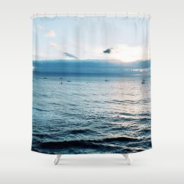 Day At Sea Shower Curtain