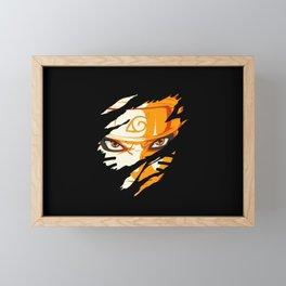 Hero Face Framed Mini Art Print