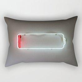Low Battery Rectangular Pillow