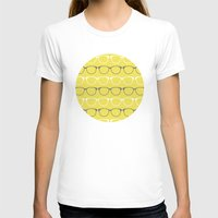 glasses T-shirts featuring Glasses by C Designz