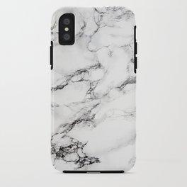 Greyish White Marble iPhone Case