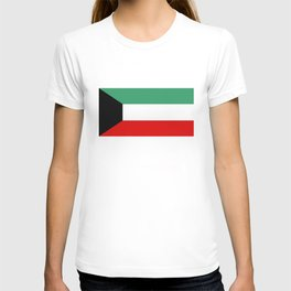 Kuwait country flag T-shirt