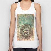 pisces Tank Tops featuring Pisces by Jen Hallbrown