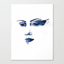Her Solemn Vow  Canvas Print