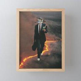 Midlife crisis Framed Mini Art Print