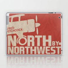 North by Northwest - Alfred Hitchcock Movie Poster Laptop & iPad Skin
