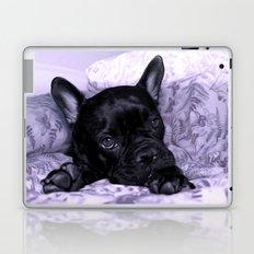 Purple Frenchie Laptop & iPad Skin