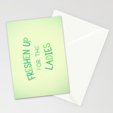 Freshen Up for the Ladies Stationery Cards