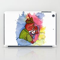 robin hood iPad Cases featuring Robin Hood and Maid Marian by KitschyPopShop