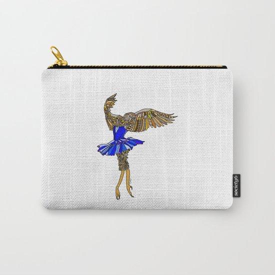 Owl Ballerina Tutu Carry-All Pouch