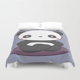Kawaii Cute Yoga Panda Duvet Cover