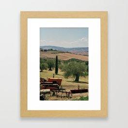 Val d'Orcia Framed Art Print