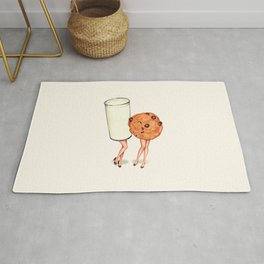 Milk & Cookie Pin-Ups Rug