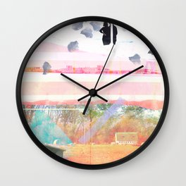 Only Foundations Remain Wall Clock