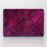 heavy metal iPad Cases featuring Purple Heavy Metal by Lord Egon Will