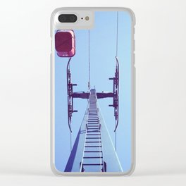 sky hooks Clear iPhone Case