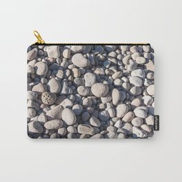 River stones on bank of Oregon river Carry-All Pouch