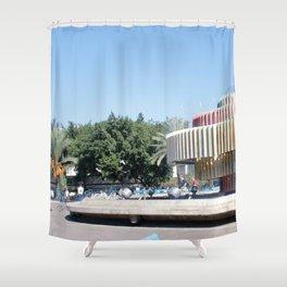 Tel Aviv photo - Dizengoff Square Shower Curtain