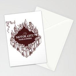 Motor City Marauders Logo Stationery Cards