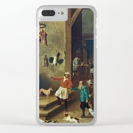 The Kitchen by David Teniers the Younger Clear iPhone Case