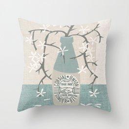 cordial union Throw Pillow