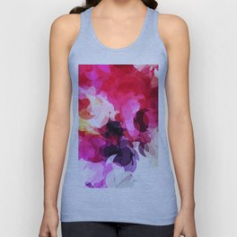 Bright Happy Color Abstract Unisex Tank Top