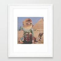 desert Framed Art Prints featuring Desert by Jon Duci