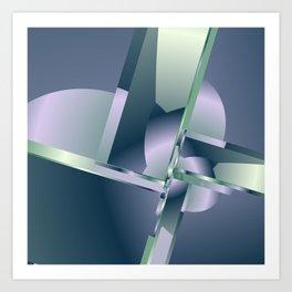 geometric pattern -4- Kunstdrucke