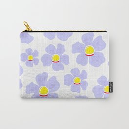 Space Odyssey | Astronaut Flower | Space Flower | Purple Flower | pulps of wood Carry-All Pouch