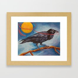 I'll Losso The Moon for You Framed Art Print