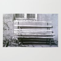 jewish Area & Throw Rugs featuring Many quiet moments to rest by Brown Eyed Lady