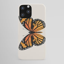 Monarch Butterfly | Vintage Butterfly | iPhone Case