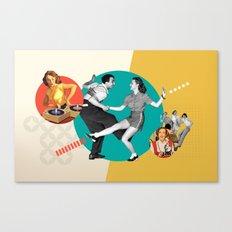 Tempi moderni / Modern times Canvas Print