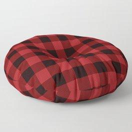 Plaid Flannel 1 Floor Pillow