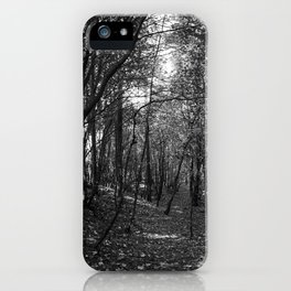 The path less travelled iPhone Case