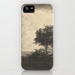 The Three Trees iPhone Case