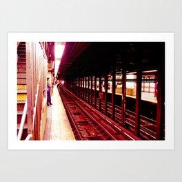 Underground Infrastructure Art Print