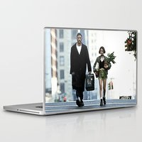 leon Laptop & iPad Skins featuring LEON, THE PROFESSIONAL by VAGABOND