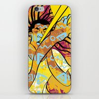 jazz iPhone & iPod Skins featuring Jazz by Sanfeliu